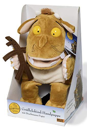 Gruffelokind-handpuppe mit Stockmann Figur