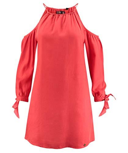 Superdry Robe À Épaules Dénudées Eden - rouge - Taille 36