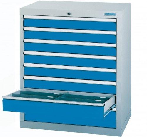 Schubladenschrank Serie T500-9 mit 8 Schubladen
