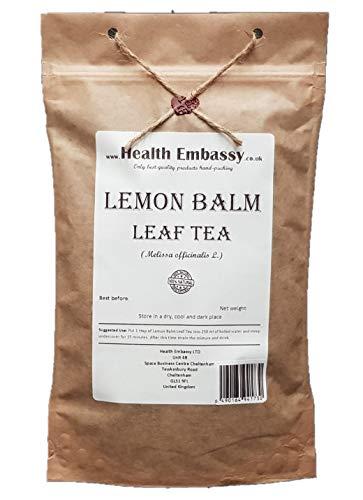 Hoja de Melisa/Limón 100g (Melissa Officinalis) Té de Hierbas/Lemon Balm Tea 100g - Health Embassy - 100% Natural