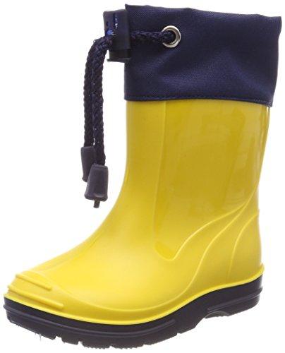 Beck Basic, Stivali di Gomma Unisex-Bambini, Giallo (Gelb 10), EU