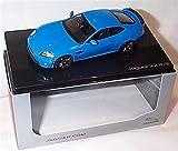 ixo Jaguar XKR-S Voiture de course française bleue échelle 1/43