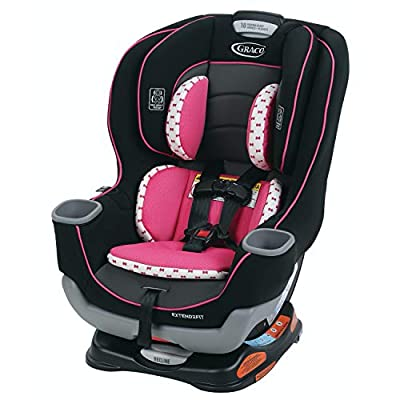 Graco Extend2Fit Convertible Car Seat, Ride Rear Facing Longer with Extend2Fit, Kenzie from Graco