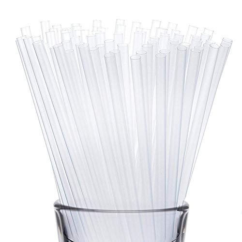 Clear Disposable Straws
