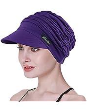 FocusCare Zachte Hoeden voor Chemo Vrouwen Bamboe Baseball Cap Haaruitval Turbans