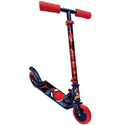 Handlebar height adjustable from 77 to 81.5 Cm Foldable and easy to carry (weight 2.2 kg) Max Weight Child 50 kg Platform Length 34.2 Cm Wheel size 120 mm