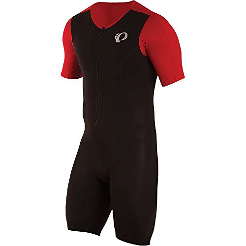 PEARL IZUMI Herren Elite Pursuit Tri Speed Anzug Medium Schwarz/True Red