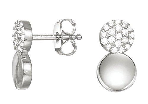 ESPRIT Damen-Ohrstecker JW50228 925 Silber Zirkonia weiß - ESER93056A000