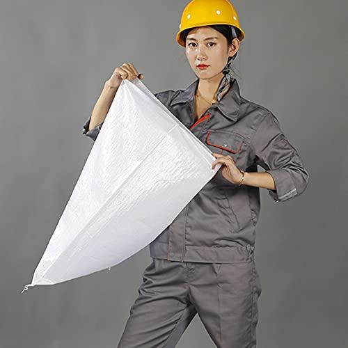 XXIOJUN Sacos Tejidos, Sacos de Arena de Polipropileno for escombros, Saco Industrial Extra Grande for Trabajo Pesado (Color : 30PCS, Size : 100X153CM)