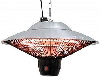 """Elektrisk utomhus-taklampa """"Atlas"""" takvärmestrålare värmestrålare värmestrålare terrassstrålare infraröd tak värmestrålare..."""