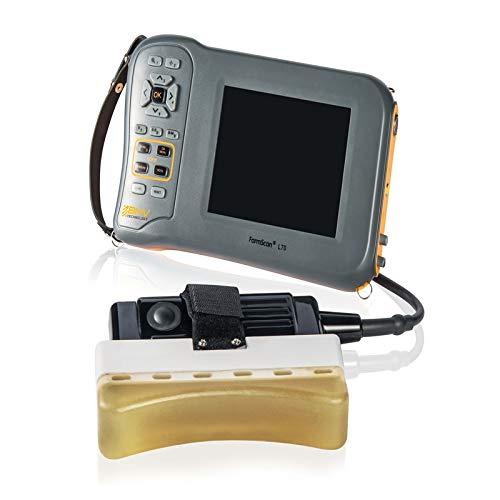 Farmscan L70 - Escáner de ultrasonido veterinario - Oveja porcina, bovina, cabra, ganado, camello, embarazo, espalda de grasa de los ojos, reproducción de músculo de lomo y mármol