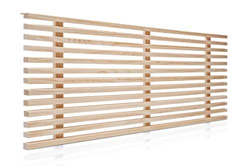 potente para casa SUENOSZZZ-REST SPECIALISTS Cabecero modelo 150 Osaka, Crudo 160 × 50cm…