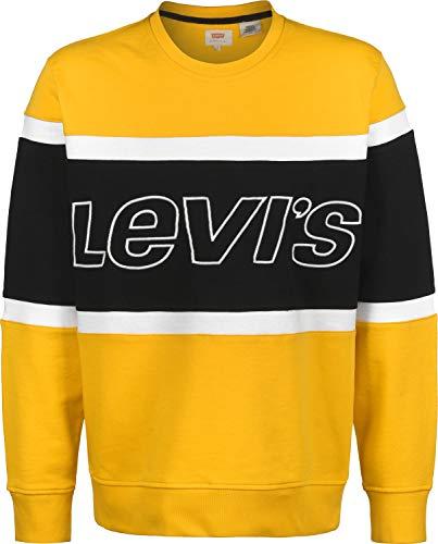 Levi's Pieced Crew Sweatshirt Sudadera para Hombre