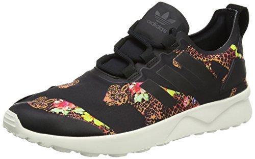 adidas ZX Flux ADV Verve, Scarpe da Ginnastica Basse Donna, Multicolore (Core Black/Core White/Core Black), 38 EU