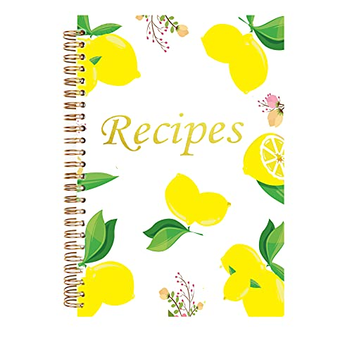 Blank Recipe Book to Write in Your Own Recipes Recipe Notebook Journal Blank Cookbook to Write in 5.75x8.75' Keepsake Recipe Organizer Recipe Books to Write in With Tabs Stickers