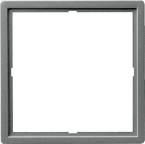 Gira 028220 Adapterrahmen 50 x 50 quadratisch Gira E22 Edelstahl