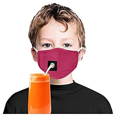 Bandanas ?USA in Stock Fast Delivery ? Kids Drinking Face_Masks Washable Reusable Face Dustproof Protection Covering Suitable for Children