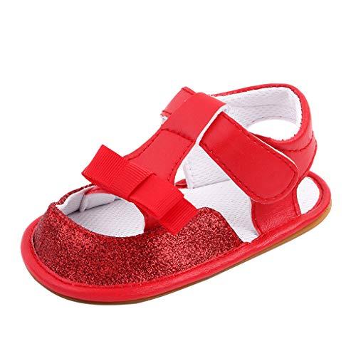 YWLINK Sandalias De Bebé De Zapatos De Suela Blanda para NiñOs PequeñOs,Bebé NiñO Suela Blanda Sandalias Antideslizante Verano Zapatos,Sandalias Antideslizantes,Zapatos Princesa NiñA