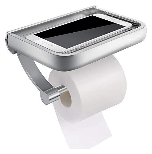 Soporte de rollo de inodoro Tenedor de baño Tabl de baño Dispensador Toalla de papel Soporte de toalla de pared Soporte de papel higiénico montado en la pared Tenedor de papel de papel Dispensador de