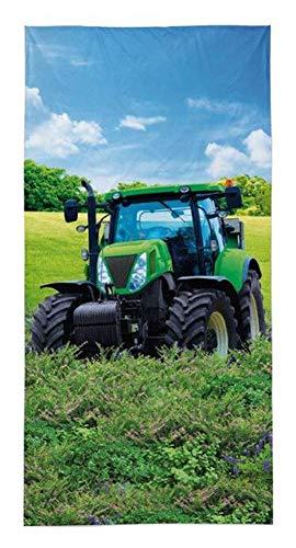 Detexpol Trecker Traktor Strandtuch Badetuch 70 x 140 cm