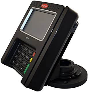 Ingenico isc 250 Credit Card Machine Stand - Strong, Durable - Made out of Metal, Swivels 0-180 Degree and Tilts - 6-56 Degree, Perfectly Designed for Ingenico isc250