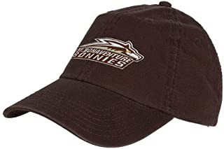 St Bonaventure Brown Twill Unstructured Low Profile Hat 'Official Logo'