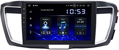 Android 10.0 Navegación GPS para Honda Accord 2013-2017,7 PULGO Pantalla táctil Sat Nav, Radio Estéreo Coche WiFi RDS BT Stereo Multimedia Player