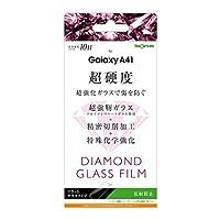 INGREM Galaxy A41 ダイヤモンドガラスフィルム 10H アルミノシリケート 反射防止 IN-GA41FA/DHG