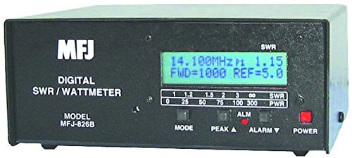 MFJ-826B SWR Meter, 1.8-54MHz, 1500W, Digital. Buy it now for 200.99