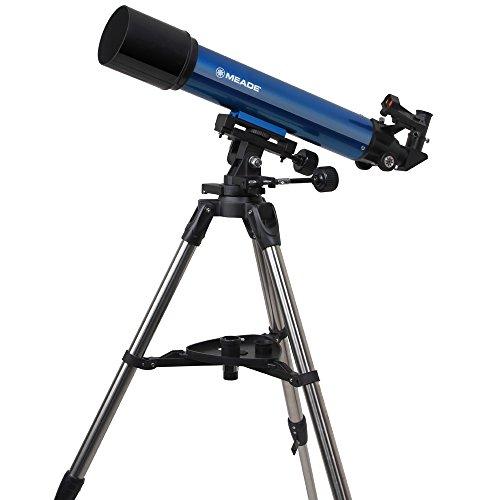 MEADE天体望遠鏡AZM-90屈折式アクロマート口径90mm焦点距離600mmブルー997064