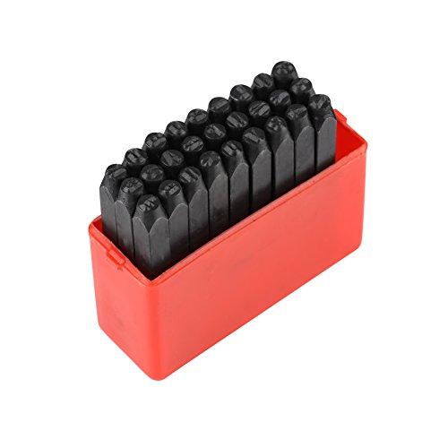 Acero Al Carbono 3 Mm Sello De Sellos De Acero Alfabeto/Números