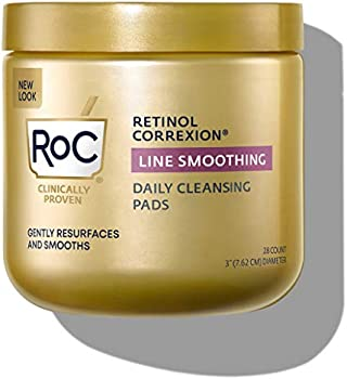 28-Count RoC Daily Hypoallergenic Exfoliating Makeup Removing Pad