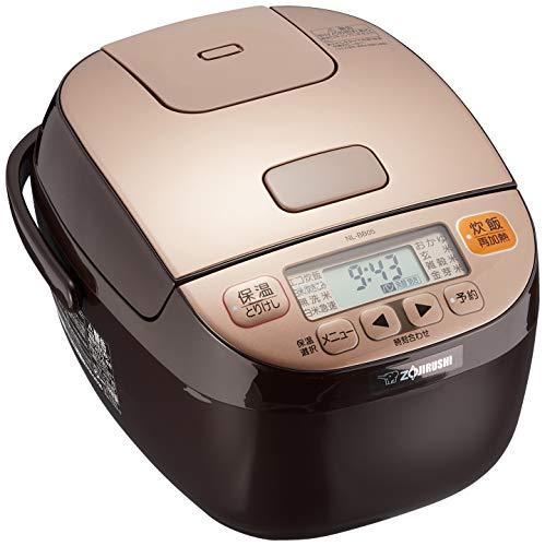 象印 炊飯器 3合 マイコン式 極め炊き 黒厚釜 一人暮らし カッパーブラウン NL-BB05AM-TM