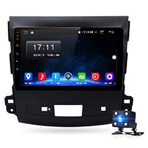 KLL Android 9.0 2G 32G 4G WiFi Radio de Coche Reproductor Multimedia NavegaciKLLoacute;n GPS para Mitsubishi Outlander XL 2 2005-2011 4007