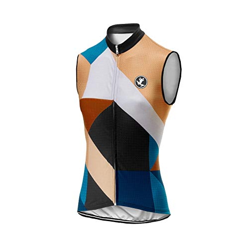 UGLY FROG Mujer Conjunto Chaleco Ciclismo Maillot Ciclista Sin Mangas Camiseta MTB para Verano DXWH03