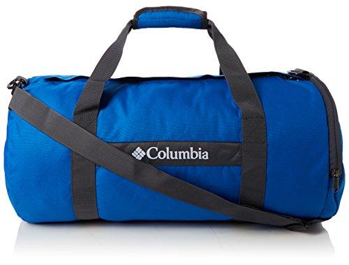 Columbia Barrelhead SM Dufeel Bag, Bolsa de Deporte 30 l, Azul (Super Blue)/Gris (Graphite), Small