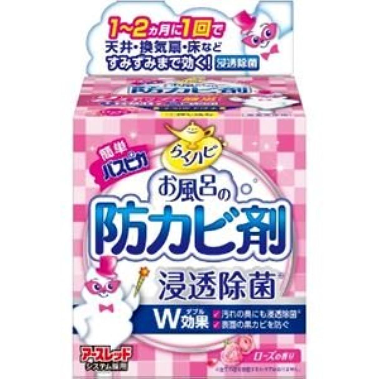 提案実験的精度(まとめ)アース製薬 らくハピお風呂の防カビ剤ローズの香り 【×3点セット】