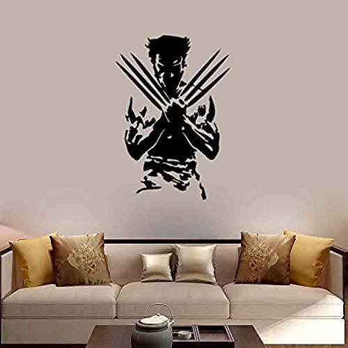 Arte creativo pegatinas de pared pintura exposición estudio biblioteca decoración calcomanía sala de estar dormitorio decoración del hogar mural vinilo 56cmx80cm