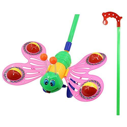 didatecar Baby-Kleinkind Vor Sich Her Schieben Spielzeug Laufspaß Kugelroller Baby Lauflernhilfe, Lauflernwagen Und Babyspielzeug Schiebe-und Nachziehspielzeug Outdoor-Spielzeug & Garden Play