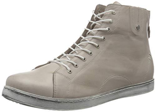 Andrea Conti Damen 0027913 Hohe Sneaker, Grau (Silbergrau 111), 38 EU