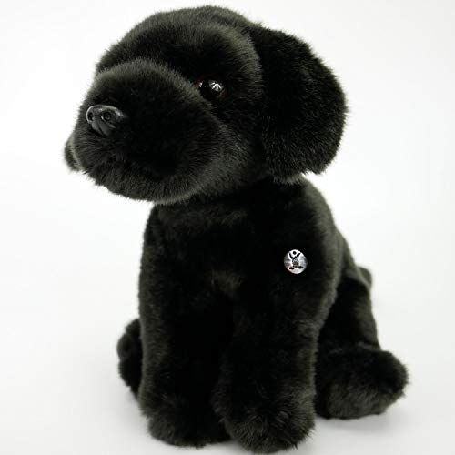 Kuscheltiere*biz Peluche de Labrador Pepsi sentado, 23 cm, perro Labby
