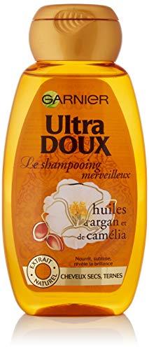 Garnier - Ultra Soft maravilloso aceite de argán y de la camelia - Champú Cabello Seco - 250 ml