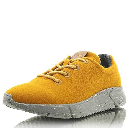 Laerke Merino Sneaker Women - Damen Runner und Damenschuhe aus Merino Wolle - Schuhe Made in Portugal