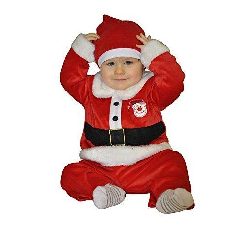 Déguisement père Noël bébé 3 pièces Taille 12/24 mois
