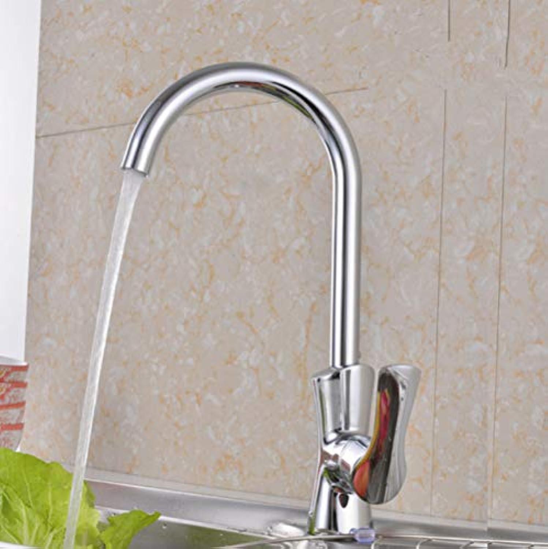 ZHAOSHOP Wasserhahn Kupfer drehen Küchenarmatur heies und kaltes Wasser Mischbecken Waschbecken Wasserhahn