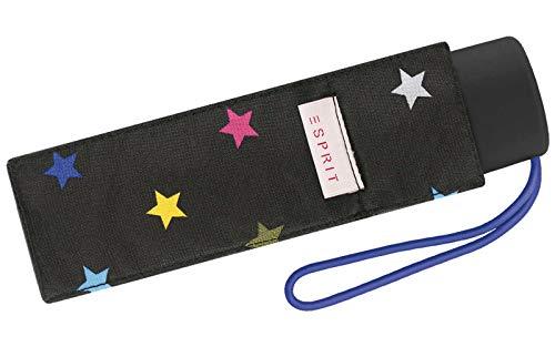 Esprit Regenschirm Joyful Stars - Taschenschirm Petito mit Handöffner