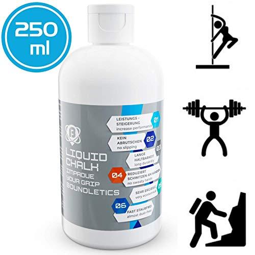Boundletics Liquid Chalk - 250ml Flüssig Kreide - Magnesia für besseren Grip