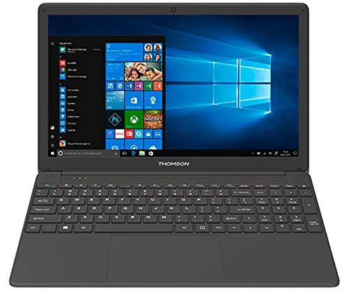 THOMSON 15.6' I3-5005U 8GB SSD512GB USB 3.0 W10H Laptop Black