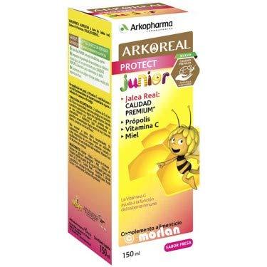 Arkoreal Protect Junior Jarabe Jalea Real, Propólis, Vitamina C y Miel, 140ml