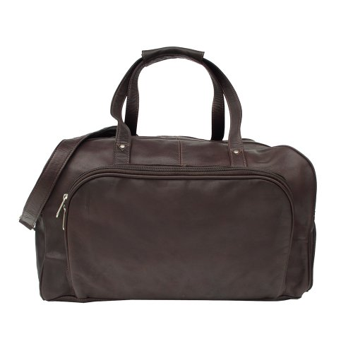 Piel Leather Deluxe Carry On Duffel